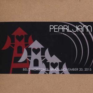 パールジャム Pearl Jam - South America: Belo Horizonte, Brazil 11/20/2015 (CD)|musique69