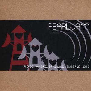パールジャム Pearl Jam - South American Tour: Rio de Janeiro, Brazil 11/22/2015 (CD)|musique69