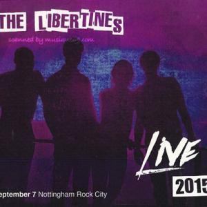 リバティーンズ The Libertines - Live 2015: Nottingham, England 07/09/2015 (CD)|musique69