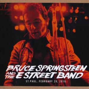 ブルーススプリングスティーン Bruce Springsteen & The E Street Band - The River Tour: St. Paul, MN 02/29/2016 (CD) musique69