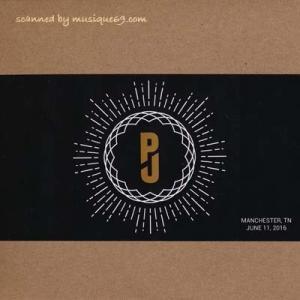 パールジャム Pearl Jam - North American Tour: Manchester, TN 06/11/2016 (CD)|musique69