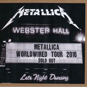 メタリカ Metallica - Webster Hall, New York 09/27/2016 (CD)|musique69