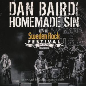ダンベアード Dan Baird and Homemade Sin - Sweden Rock 2016 (DVD/CD)|musique69