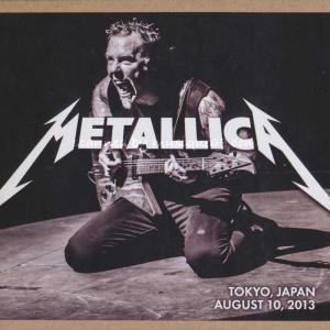 メタリカ Metallica - Tokyo, Japan 08/10/2013 (CD)|musique69
