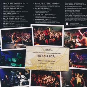 メタリカ Metallica - Liberte Egalite Fraternite Metallica!: Live at Le Bataclan, Paris, France, June 11th, 2003 (CD)|musique69|02
