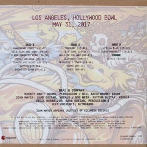 ジョンメイヤー John Mayer (Dead & Company) - Summer Tour: Los Angeles, CA 05/31/2017 (CD) musique69 02
