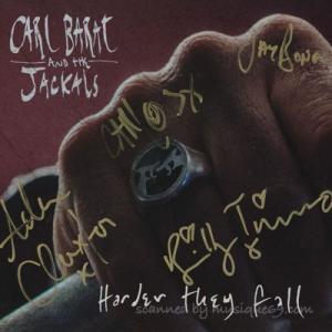 カールバラー Carl Barat and The Jackals - Harder They Fall Ep: Exclusive Autographed Edition (CD) musique69