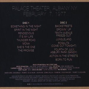 ブルーススプリングスティーン Bruce Springsteen & The E Street Band - Palace Theatre, Albany 1977 (CD)|musique69|02