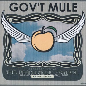 ガヴァメントミュール Gov't Mule - Live at 2017 Peach Music Festival (CD)|musique69