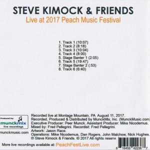 スティーヴキモック Steve Kimock & Friends  - Live at 2017 Peach Music Festival (CD)|musique69|02