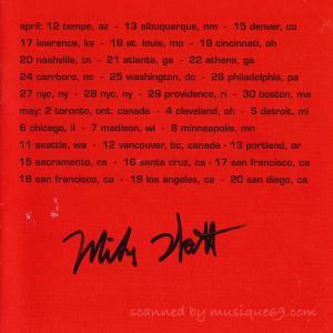 マイクワット Milke Watt - Ring Spiel Tour '95: Exclusive Autographed Edition (CD) musique69