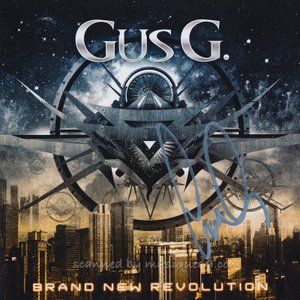 ガスG. Gus G. - Brand New Revolution: Exclusive Autographed Edition (CD)|musique69