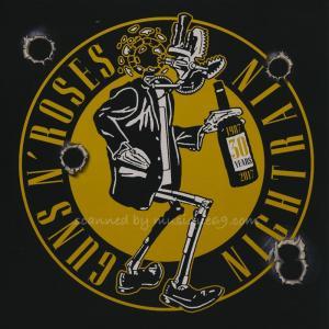 ガンズアンドローゼズ Guns N' Roses - Nightrain: Official Fan Club 2017 Exclusive Red Coloured Single (vinyl) musique69