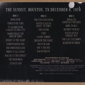 ブルーススプリングスティーン Bruce Springsteen & The E Street Band - The Summit, Houston, TX December 8, 1978 (CD)|musique69|02