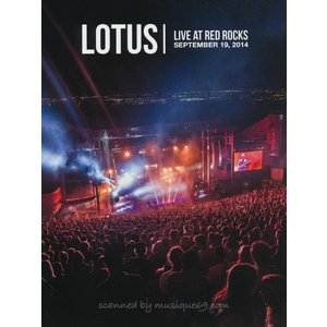 ロータス Lotus - Live at Red Rocks: September 19, 2014 (DVD)|musique69