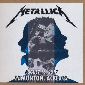 メタリカ Metallica - Edmonton, Canada 08/16/2017 (CD) musique69