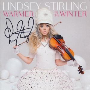 リンジースターリング Lindsey Stirling - Warmer in the Winter: Exclusive Autographed Edition (CD)|musique69