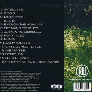 ロビーウィリアムス Robbie Williams - Under the Radar Vol 2: Deluxe Autographed Edition (CD) musique69 02