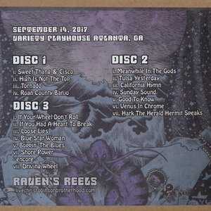 クリスロビンソン The Chris Robinson Brotherhood - Raven's Reels: Atlanta, GA 09/14/2017 (CD)|musique69|02