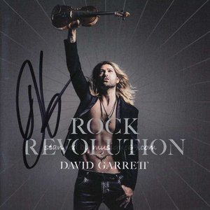 デヴィッドギャレット David Garrett - Rock Revolution: Exclusive Autographed Edition (CD/DVD)|musique69