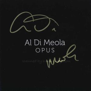 アルディメオラ Al Di Meola - Opus: Exclusive Autographed Edition (CD)|musique69