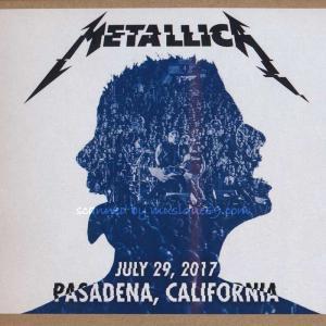 メタリカ Metallica - Pasadena, CA 07/29/2017 (CD)|musique69