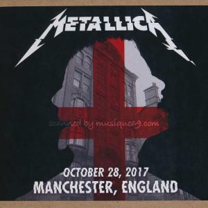 メタリカ Metallica - Manchester, England 28/10/2017 (CD)|musique69