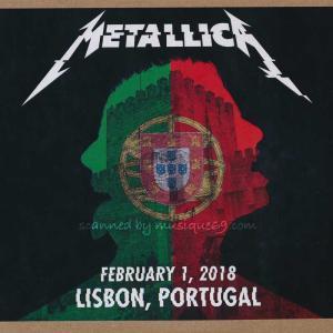 メタリカ Metallica - Lisbon, Portgul 01/02/2018 (CD)|musique69