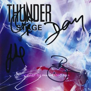 サンダー Thunder - Stage: Exclusive Autographed Edition (CD)|musique69