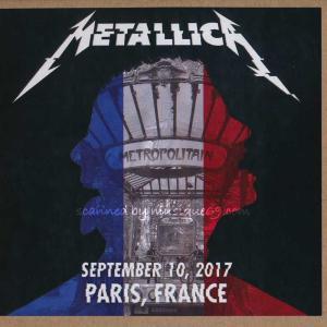 メタリカ Metallica - Paris, France 10/09/2017 (CD) musique69