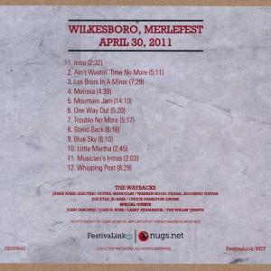 ジョーンオズボーン The Waybacks and Joan Osborne Eat a Peach - Hillside Album Hour: Wilkesboro, Nc 04/30/2011 (CD)|musique69|02
