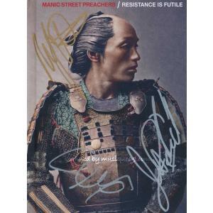 マニックストリートプリーチャーズ Manic Street Preachers - Resistance is Futile Deluxe Edition: Exclusive Autographed Version (CD)|musique69