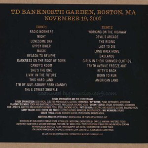ブルーススプリングスティーン Bruce Springsteen & The E Street Band - TD Banknorth Garden, Boston 11/19/07 (CD)|musique69|02