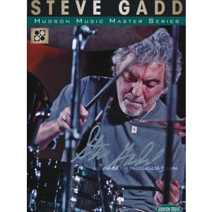 スティーヴガッド Steve Gadd - Hudson Music Master Series: Exclusive Autographed Edition (DVD)|musique69