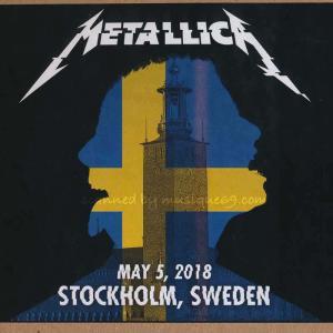 メタリカ Metallica - Stockholm, Sweden 05/05/2018 (CD)|musique69