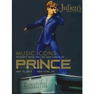 プリンス Prince - Music Icons: Property from the Life and Career of Prince Order Limited Edition Catalog musique69