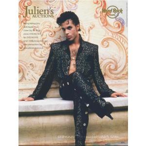 プリンス Prince - Music Icons: Property from the Life and Career of Prince Order Limited Edition Catalog musique69 02