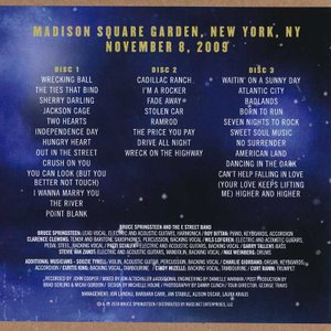 ブルーススプリングスティーン Bruce Springsteen & The E Street Band - MSG Nov 09, 2009 (CD)|musique69|02