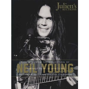 ニールヤング Neil Young - Property from the Collection of Neil Young: Order Limited Edition Catalogue|musique69