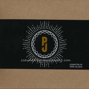 パールジャム Pearl Jam - North American Tour: Lexington, KY 04/26/2016 (CD) musique69