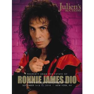 ロニージェイムスディオ Ronnie James Dio - Property from the Estate of Ronnie James Dio: Limited Edition Catalogue|musique69