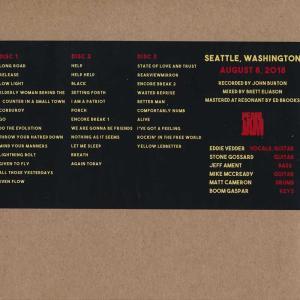 パールジャム Pearl Jam - The Home x Away Shows: Seattle, WA 08/08/2018 (CD) musique69 02