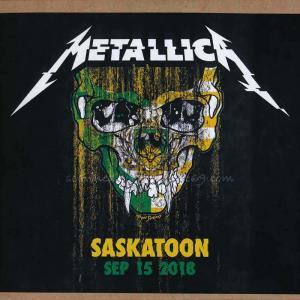 メタリカ Metallica - Saskatoon, Canada 09/15/2018 (CD)|musique69