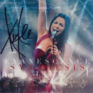 エヴァネッセンス Evanescence - Synthesis Live: Exclusive Autographed Edition (CD/DVD)|musique69