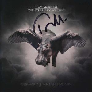 トムモレロ Tom Morello - Atlas Underground: Exclusive Autographed Edition (CD)|musique69