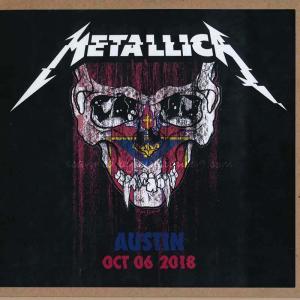 メタリカ Metallica - Austin, TX 10/06/2018 (CD)|musique69