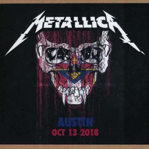 メタリカ Metallica - Austin, TX 10/13/2018 (CD)|musique69