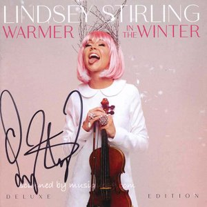 リンジースターリング Lindsey Stirling - Warmer in the Winter Deluxe Edition: Exclusive Autographed Version (CD)|musique69