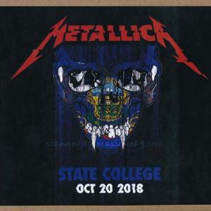 メタリカ Metallica - State College, Pa 10/20/ 2018 (CD)|musique69