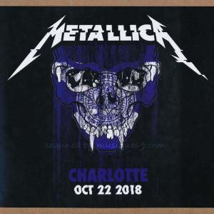 メタリカ Metallica - Charlotte, Nc 10/22/2018 (CD)|musique69